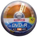 DVD-R-4.7GB-120min-Pino-com-10-Unidades-Maxell