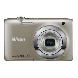 Camera-Digital-Nikon-Coolpix-Prata-S2600-14MP-LCD-27--Filma-em-HD-Cartao-4GB