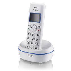 Telefone-Sem-Fio-com-Dect-6.0-Identificador-de-Chamadas-e-Viva-Voz-Elgin-TSF-5001---Branco