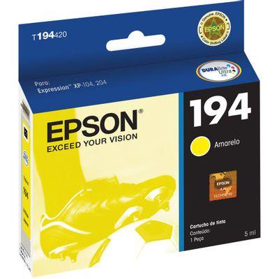 Cartucho-Epson-T194420-Amarelo