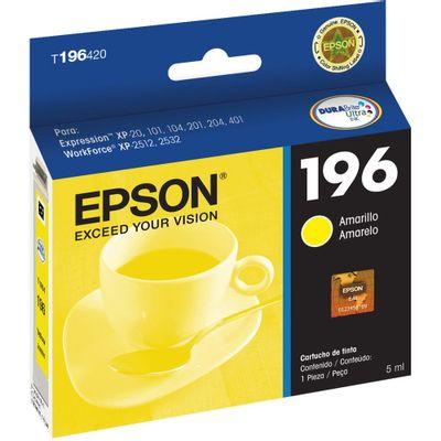 cartucho-tinta-t196420-amarelo-epson