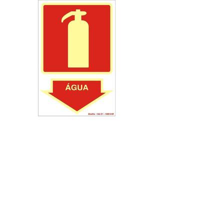 placa-auto-adesiva-pvc-extintor-agua-logitech
