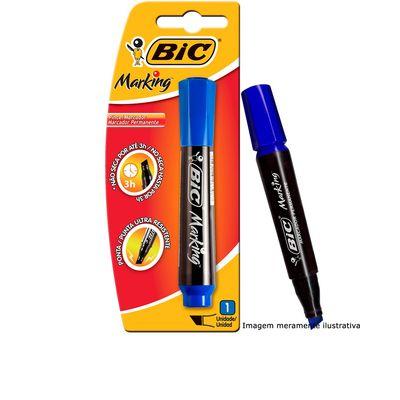 marcador-permanente-recarregavel-marking-azul-bic