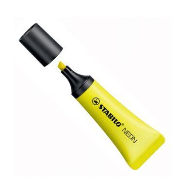 marca-texto-amarelo-neon-stabilo