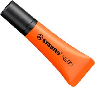 marca-texto-laranja-neon-stabilo