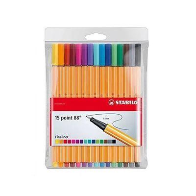 caneta-point-88-15-cores-stabilo