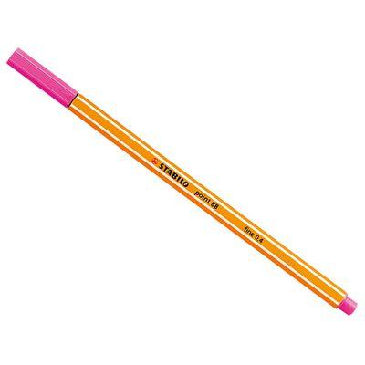 caneta-point-88-rosa-stabilo