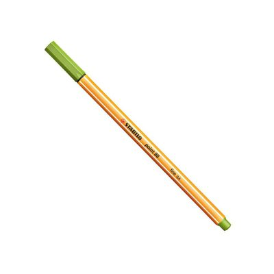 caneta-point-88-verde-maca-stabilo