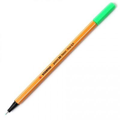 caneta-point-88-verde-neon-stabilo