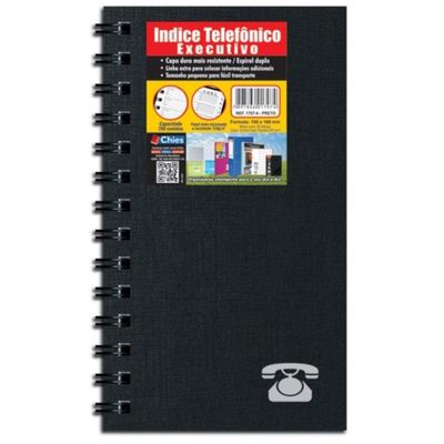 indice-telefonico-executivo-preto-chies