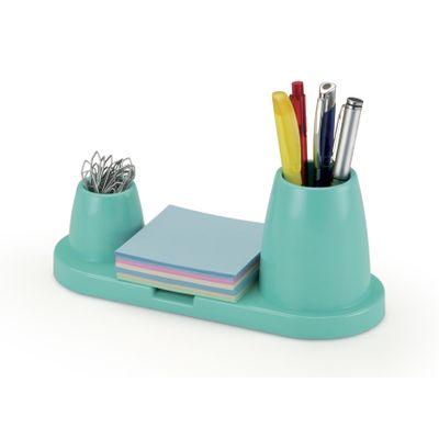 porta-canetas-clips-lembretes-trio-plus-azul-waleu