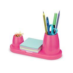 porta-canetas-clips-lembretes-trio-plus-rosa-waleu