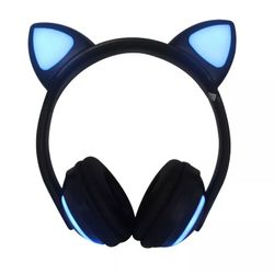 fone-de-ouvido-bluetooth-orelha-de-gato-exbom