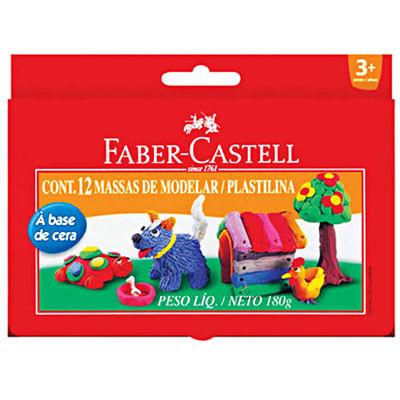massa-de-modelar-base-cera-12-cores-faber-castell