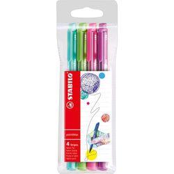 caneta-pointmax-neon-com-4-cores-stabilo