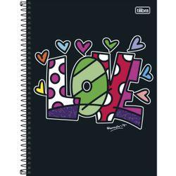 caderno-espiral-capa-dura-universitario-10-materias-200-folhas-romero-britto-tilibra