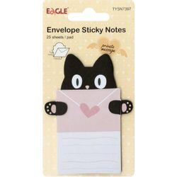 envelope-sticky-notes-15-folhas-gato-tysn7397-eagle