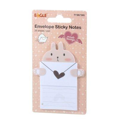 envelope-sticky-notes-15-folhas-coelho-tysn7395-eagle