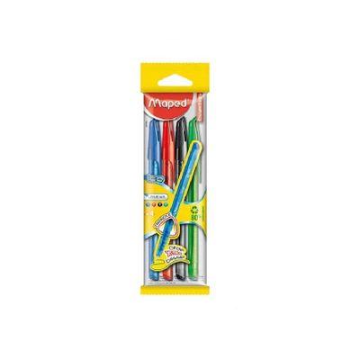 caneta-esferograficas-essentials-ice-4-cores-maped-