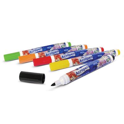 caneta-para-tecido-acrilpen-azul-turquesa-acrilex-