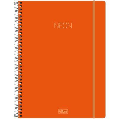 caderno-espiral-capa-plastica-universitario-1-materia-neon-laranja-80-folhas-tilbra