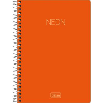 caderno-espiral-capa-plastica-1-4-neon-laranja-80-folhas-tilibra