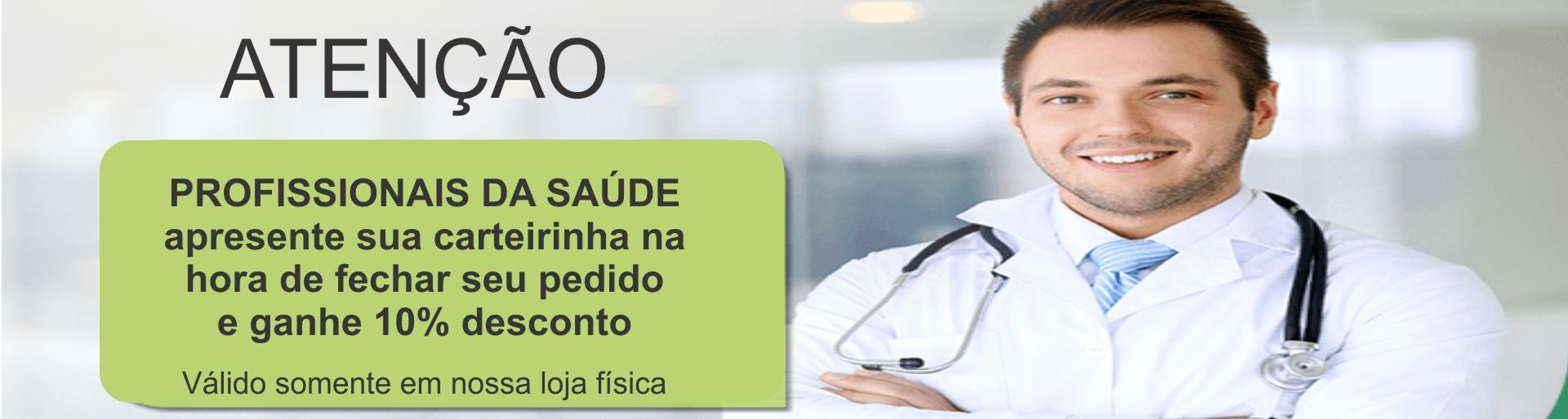 Banner Profissionais da Saúde