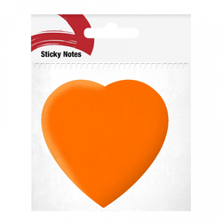 bloco-adesivo-postit-coracao-laranja
