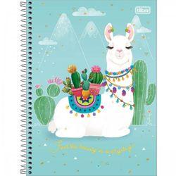 caderno-espiral-capa-dura-universitario-1-materia-hello-80-folhas