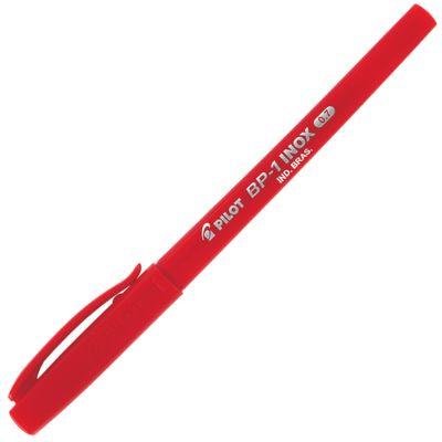 caneta-esferografica-pilot-super-grip-inox-vermelha