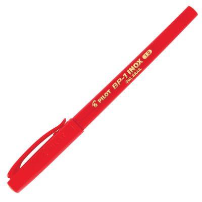 caneta-esferografica-pilot-super-grip-inox-0.1-vermelha