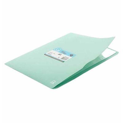 pasta-catalogo-c--10-sacos-plasticos-a4-lolipop-verde-pastel-plascony-110lp-vd