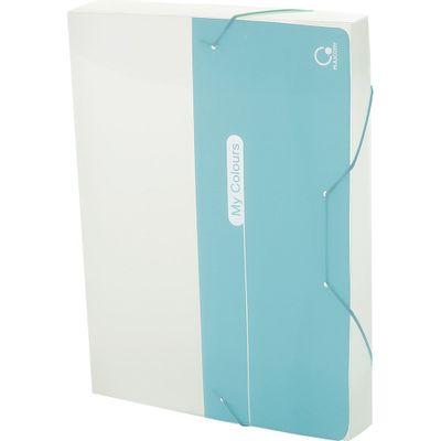 pasta-aba-elastico-a4-dorso-4cm-my-colours-azul-plascony-a40mc-az