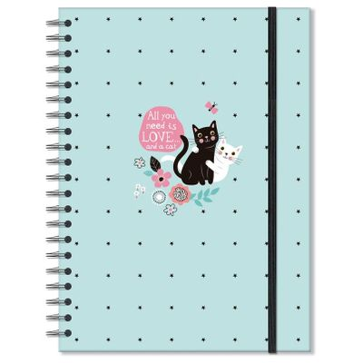 caderno-universitario-gatos-96f-200x275mm-fina-ideia-